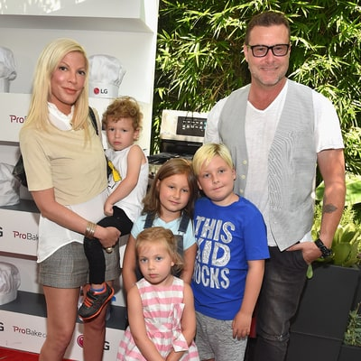 Tori Spelling Welcomes Newest Member of the Family, Pet Pig Nutmeg
