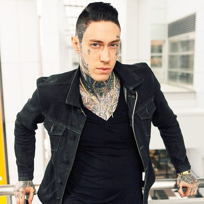 Trace Cyrus Shows Off His Nearly Fully Tattooed Body With Shirtless Selfie