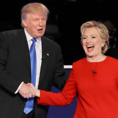 Jimmy Kimmel Tricks People Into Thinking Donald Trump, Hillary Clinton Kissed During Presidential Debate