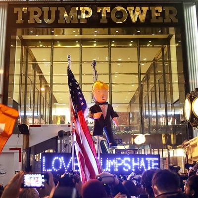Donald Trump Protests Break Out Around the Country — See Which Celebs Got Involved