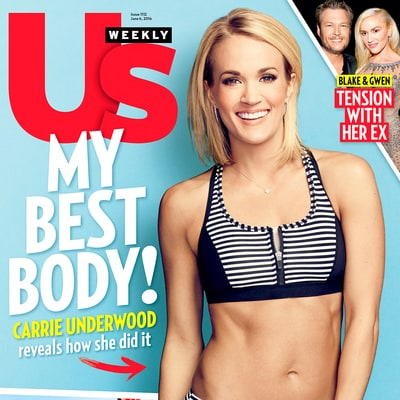 Carrie Underwood Gives Us the Secret to Her Killer Legs in the Best Bodies Issue