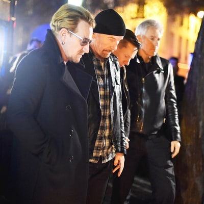 Bono Places Flowers on Paris Attacks Victims Memorial, Speaks Out