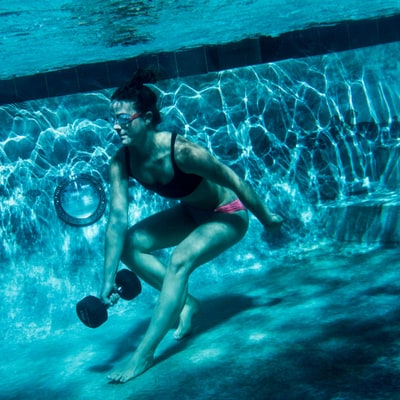 A Killer Strength Workout — in the Pool