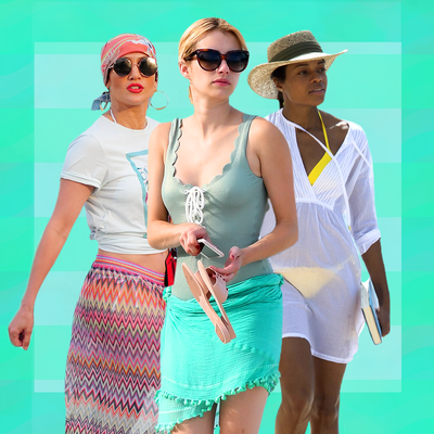 Emma Roberts, Heidi Klum, J.Lo Show You the Perfect Cover-Ups for Summer 2016