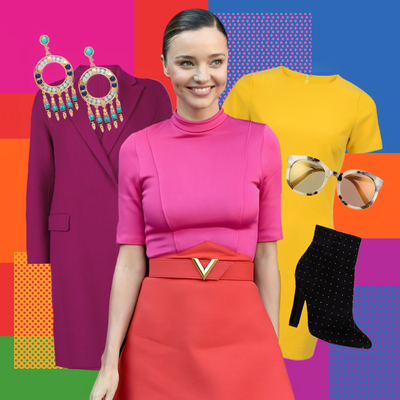 Five Celeb-Approved Ways to Color Block Your Wardrobe