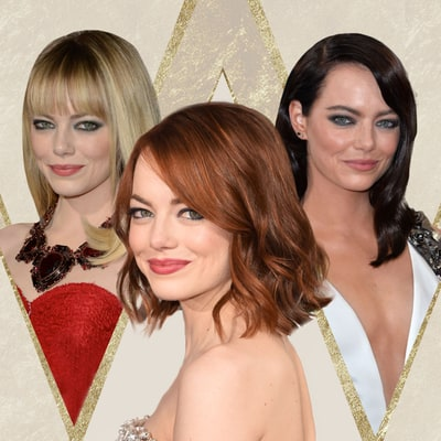 Oscars Flashback! See Emma Stone's Best Red Carpet Transformations