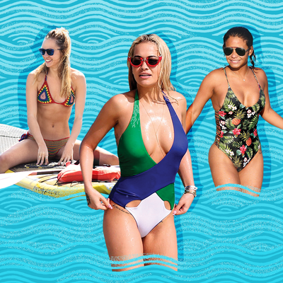 Shop the Hottest Celebrity Swimsuit Trends for $70 or Less