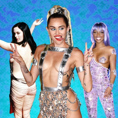 MTV Video Music Awards: Relive the Wildest Red Carpet Styles of All Time!