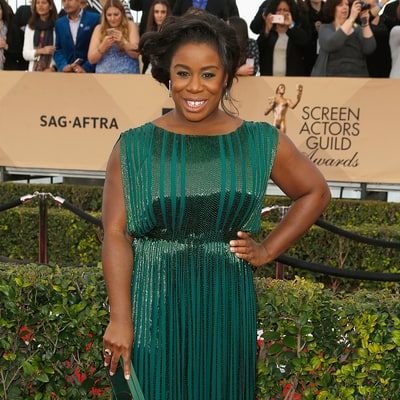 Orange Is the New Black's Uzo Aduba Takes Prom Date to SAG Awards: 'He Said Yes!'