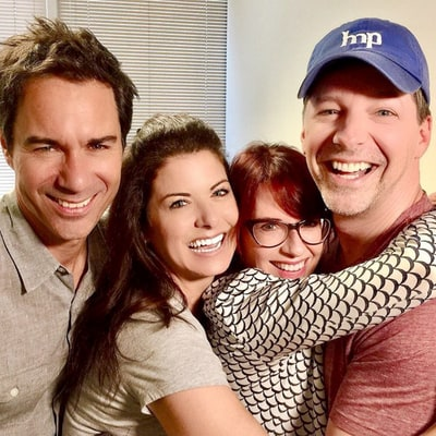 'Will & Grace' Cast Reunites, Debra Messing Jokes Eric McCormack Smells the Same