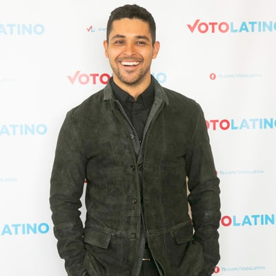 Wilmer Valderrama Looks Trim, Flashes a Huge Smile While Supporting the Latino Community
