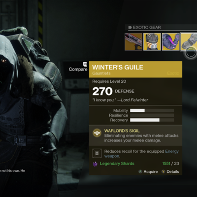 'Destiny 2': Where's Xur and What's He Selling (October 20th)?