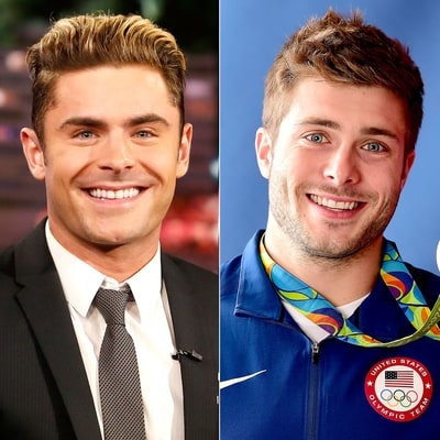 Zac Efron Found His Doppelgänger at the Olympics: See the Pics!