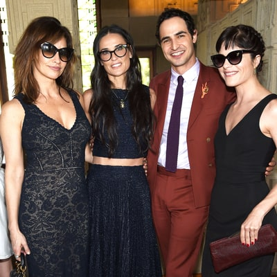 Zac Posen Celebrates Launch of MAC Zac Posen Makeup Collection With Demi Moore, Dita von Teese: Details!