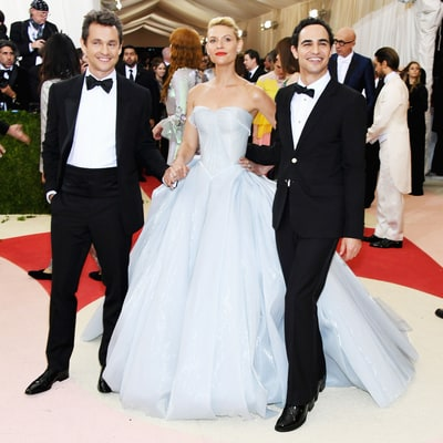 Zac Posen Didn't Know if Claire Danes' Met Gala 2016 Gown Would Light Up