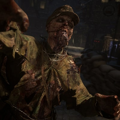 'Call Of Duty: WWII' Nazi Zombies Turns to Body Horror, Fear in Latest Outing